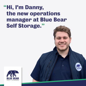 Danny, Operations Manager for our 'local storage companies' in Buckingham, Petersfield, Corby and St Ives