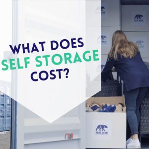 How much does a self-storage unit cost?