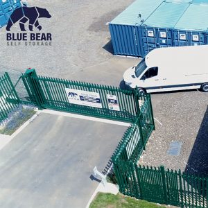 Looking for storage in St Ives? DRive right up to Blue Bear